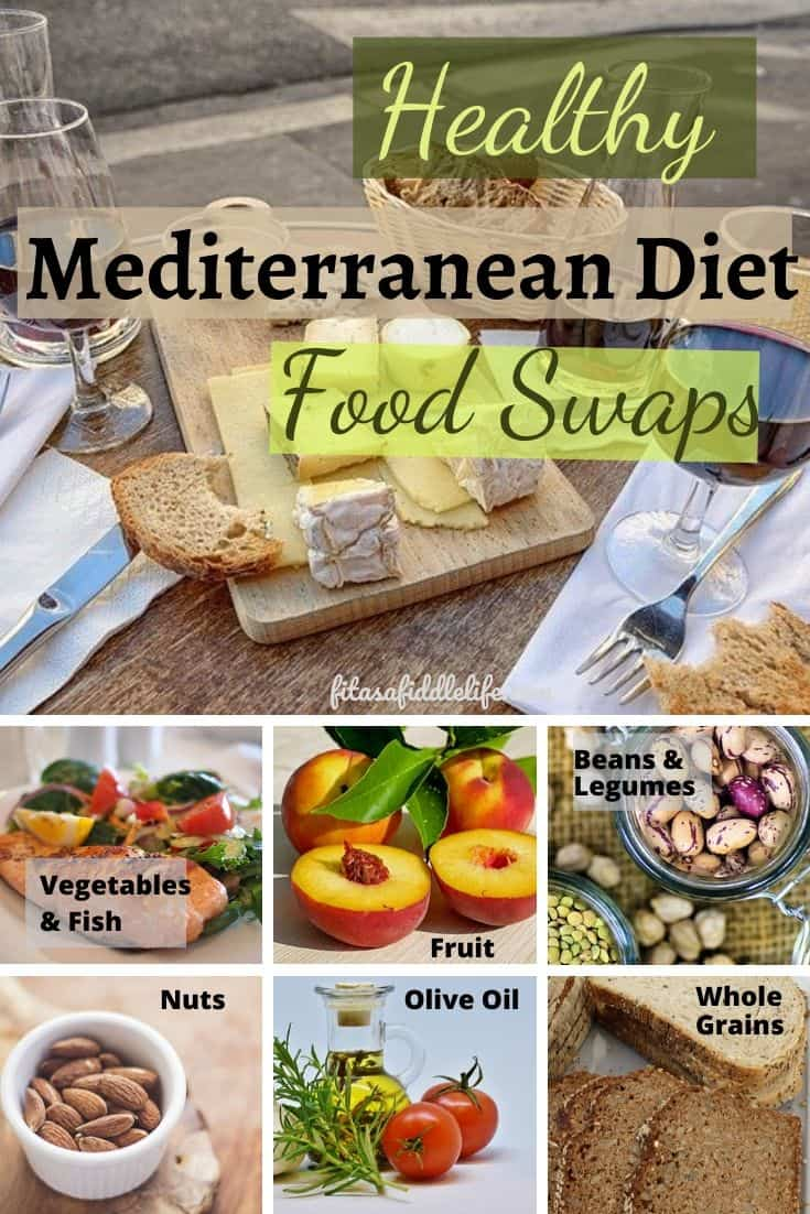 Ease into the Mediterranean diet with easy food swaps. Look at a meal plan for 7 days on the diet.